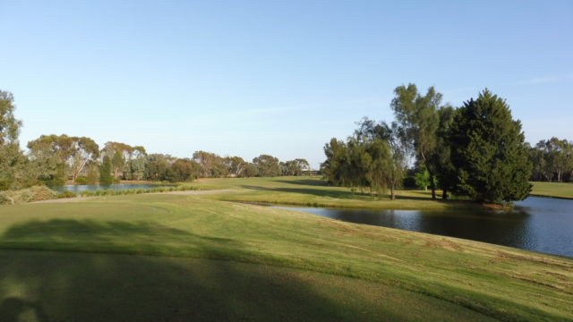 The 13th tee at Murray Downs Golf Country Club