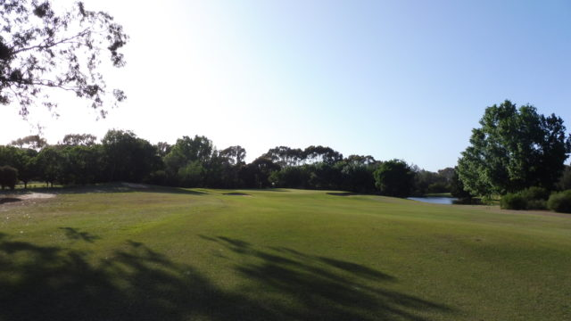 The 14th fairway at Murray Downs Golf Country Club