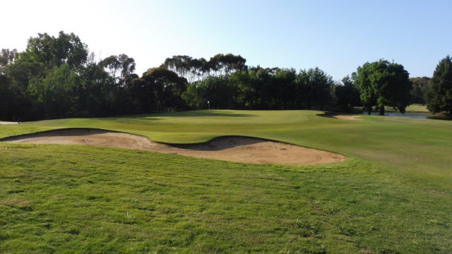 The 14th green at Murray Downs Golf Country Club