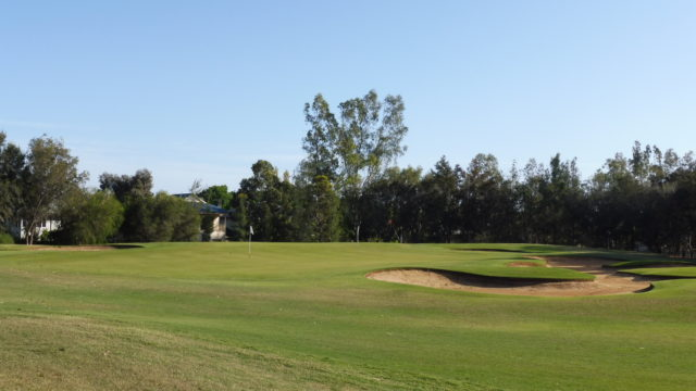 The 15th green at Murray Downs Golf Country Club