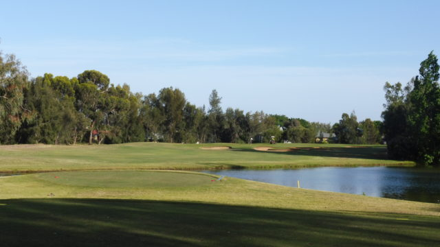 The 15th tee at Murray Downs Golf Country Club