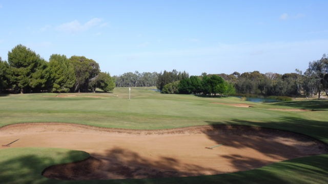 The 16th green at Murray Downs Golf Country Club