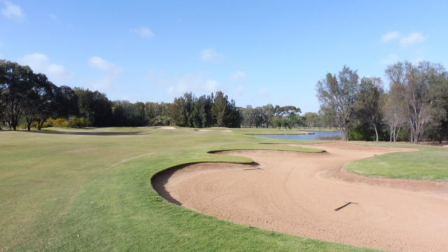 The 17th fairway at Murray Downs Golf Country Club
