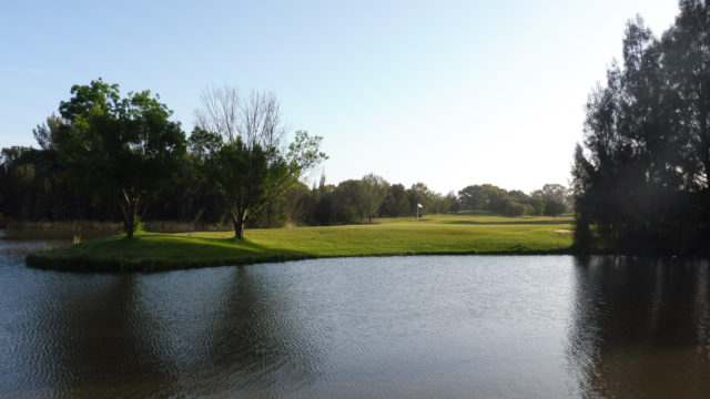The 17th green at Murray Downs Golf Country Club