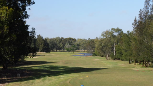 The 17th tee at Murray Downs Golf Country Club