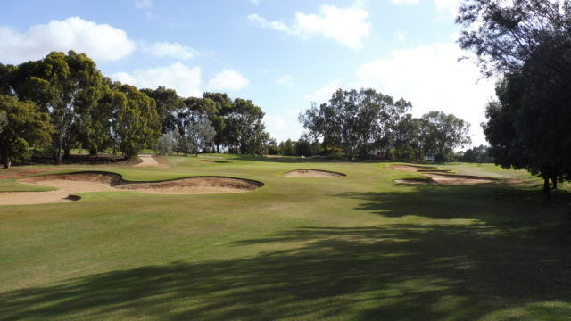 The 18th fairway at Murray Downs Golf Country Club