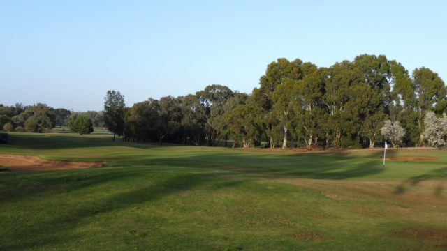 The 18th green at Murray Downs Golf Country Club