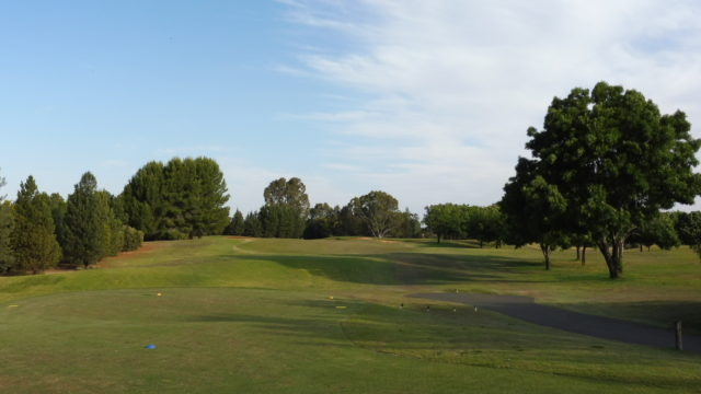 The 1st tee at Murray Downs Golf Country Club