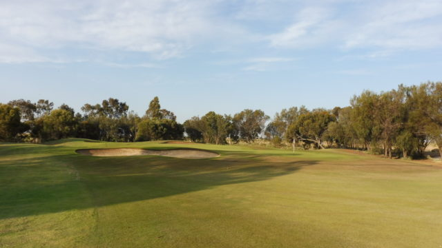 The 3rd green at Murray Downs Golf Country Club
