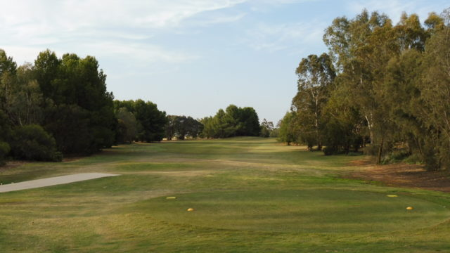 The 3rd tee at Murray Downs Golf Country Club