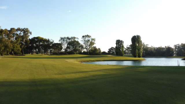 The 4th fairway at Murray Downs Golf Country Club