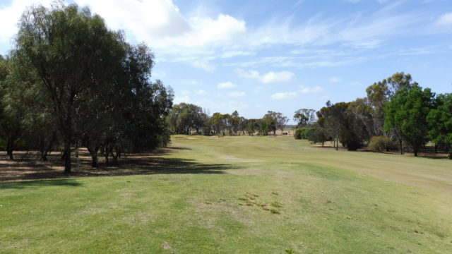 The 7th fairway at Murray Downs Golf Country Club