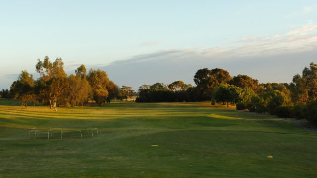 The 7th tee at Murray Downs Golf Country Club