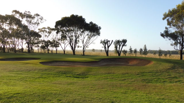The 8th green at Murray Downs Golf Country Club