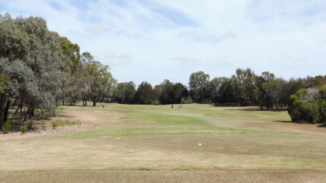 The 8th tee at Murray Downs Golf Country Club