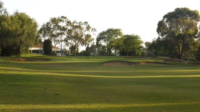 The 9th fairway at Murray Downs Golf Country Club