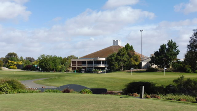 The clubhouse at Murray Downs Golf Country Club