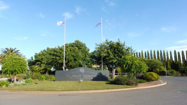 Entrance to Murray Downs Golf Country Club