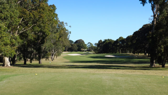 The 10th tee at Cranbourne Golf Club