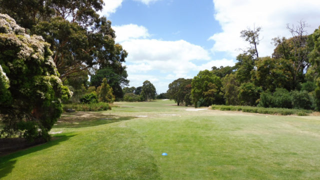 The 11th tee at Cranbourne Golf Club