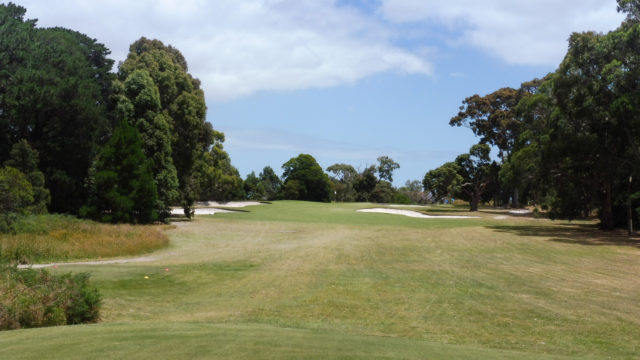 The 12th tee at Cranbourne Golf Club