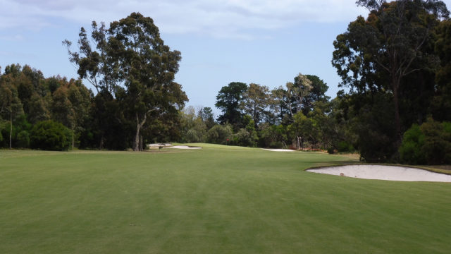 The 13th fairway at Cranbourne Golf Club
