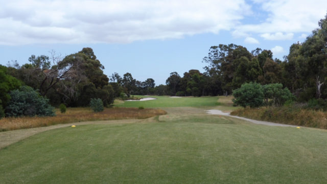 The 13th tee at Cranbourne Golf Club