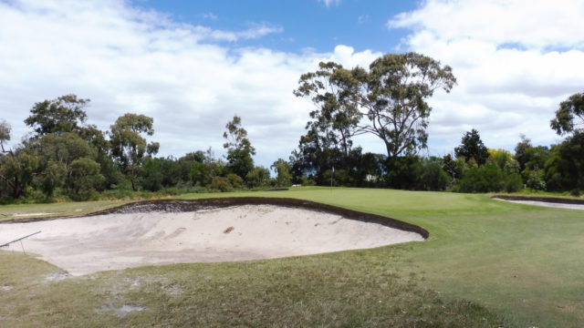 Green 14a at Cranbourne Golf Club