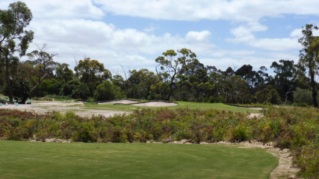 The 14th tee at Cranbourne Golf Club