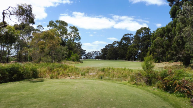 The 15th tee at Cranbourne Golf Club