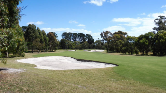 The 16th fairway at Cranbourne Golf Club