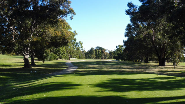 The 16th tee at Cranbourne Golf Club