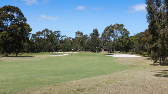 The 17th fairway at Cranbourne Golf Club