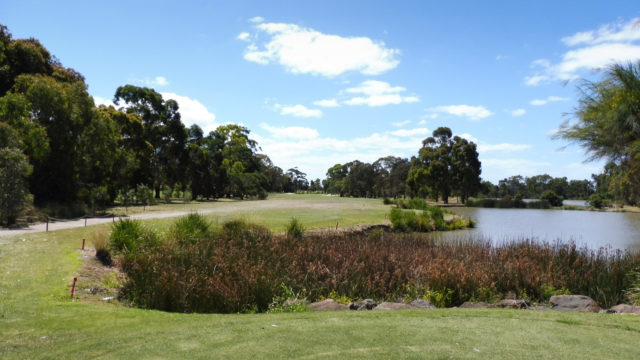 The 2nd tee at Cranbourne Golf Club