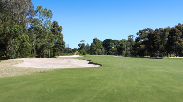 The 5th fairway at Cranbourne Golf Club