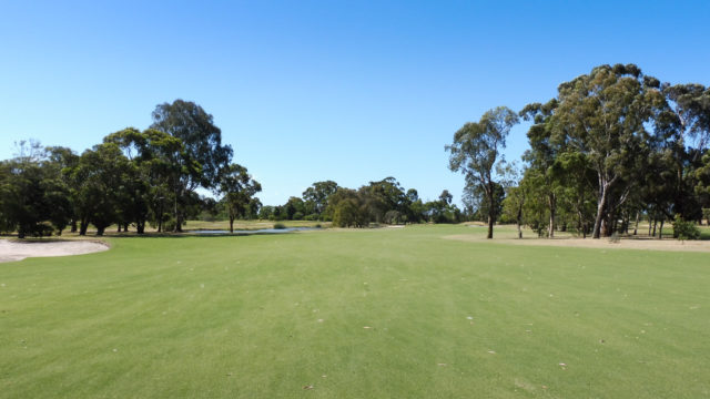 The 6th fairway at Cranbourne Golf Club