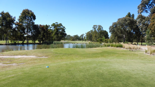 The 6th tee at Cranbourne Golf Club