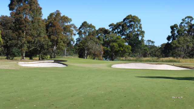 The 7th fairway at Cranbourne Golf Club