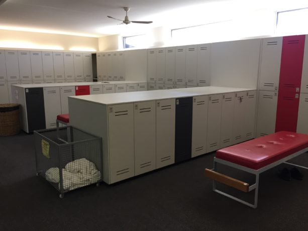 Changerooms at Cranbourne Golf Club