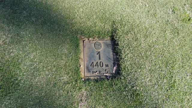 Tee Marker at Cranbourne Golf Club