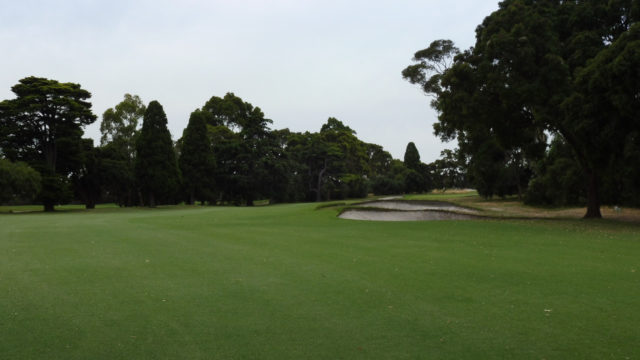 The 11th fairway at Commonwealth Golf Club