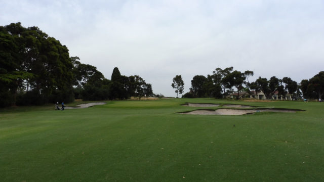 The 11th green at Commonwealth Golf Club