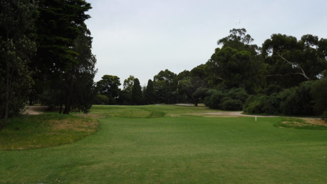 The 11th tee at Commonwealth Golf Club