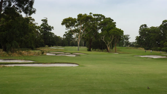 The 13th fairway at Commonwealth Golf Club