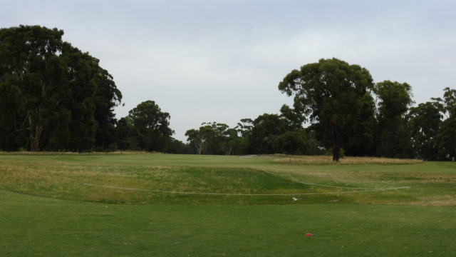 The 13th tee at Commonwealth Golf Club