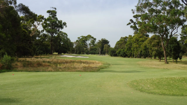 The 14th tee at Commonwealth Golf Club