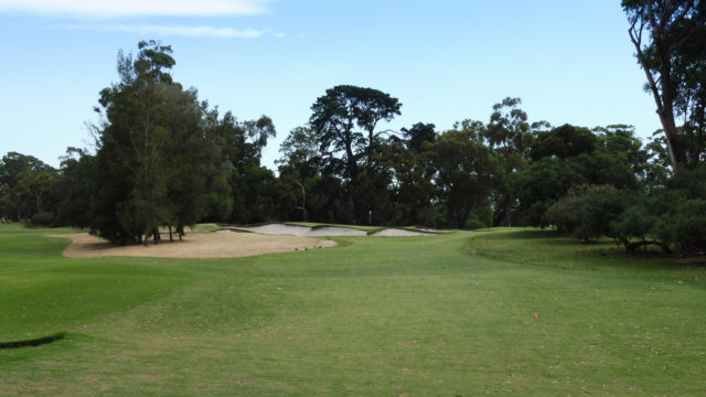 The 15th tee at Commonwealth Golf Club