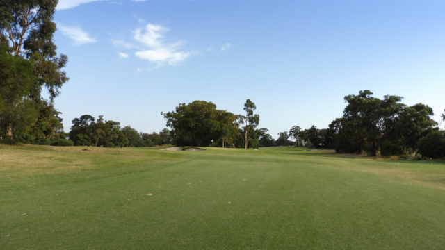 The 17th fairway at Commonwealth Golf Club
