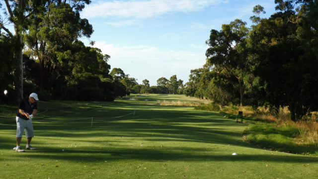The 2nd tee at Commonwealth Golf Club