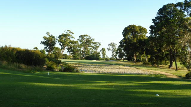 The 4th tee at Commonwealth Golf Club